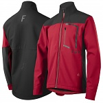 Pánská bunda na kolo FOX Attack Fire Softshell Jacket Dark Red