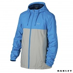 Pánská bunda Oakley Foundation Windbreaker Jacket Pacific Blue