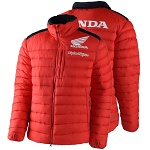 Pánská bunda TroyLeeDesigns Honda Puff Jacket Red