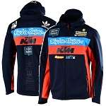 Pánská bunda TroyLeeDesigns KTM Team Pit Jacket Navy 2019
