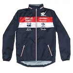 Pánská bunda TroyLeeDesigns Team Honda Windbreaker Navy
