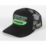 Pánská čepice BudRacing Team 19 SnapBack Hat Black Camo