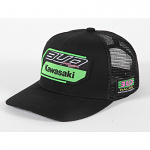 Pánská čepice BudRacing Team 19 SnapBack Hat Black