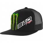 Pánská čepice BudRacing Team SnapBack Hat Black