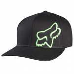 Pánská čepice FOX Flex45 Flexfit Hat Black Green
