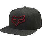 Pánská čepice FOX Instill SnapBack Hat Heather Black