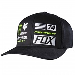 Pánská čepice FOX ProCircuit Monster Union FlexFit Hat Black