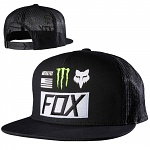 Pánská čepice FOX ProCircuit Monster Union SnapBack Hat Black