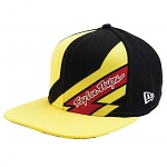 Pánská čepice TroyLeeDesigns Caution Hat SnapBack Black