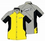 Pánská košile Leatt Team Pit Shirt Yellow Grey