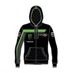 5528277e59 Pánská mikina BudRacing Team Staff Zip Hoody Green Black 2018