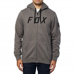 Pánská mikina FOX District 2 Zip Fleece Grey
