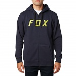 Pánská mikina FOX District 2 Zip Fleece Midnight