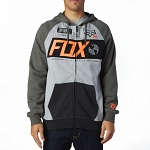 Pánská mikina FOX Maneuver Zip Fleece Military