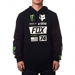 Pánská mikina FOX ProCircuit Monster Union Pullover Hoody Black