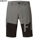 Pánské kraťasy FOX Essex TECH Print Short Heather Graphite