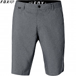 Pánské kraťasy FOX Essex TECH Stretch Short Charcoal Heather