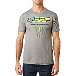 Pánské tričko FOX Monster ProCircuit SS Tee Heather Graphite