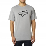 Pánské tričko FOX Tournament SS Tech Tee Heather Dark Grey