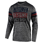 Pánský dres TroyLeeDesigns GP Jersey Elsinore Gray Heather Navy 2020