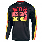 Pánský dres TroyLeeDesigns GP Jersey PREMIX 86 Black Yellow 2020