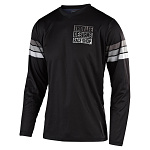 Pánský dres TroyLeeDesigns GP Jersey Saddleback Black Grey 2020
