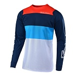 Pánský dres TroyLeeDesigns SE AIR Jersey BETA White Navy 2019