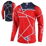 Pánský dres TroyLeeDesigns SE AIR Jersey Metric Red Navy 2019
