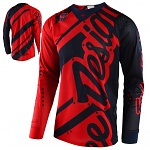 Pánský dres TroyLeeDesigns SE AIR Jersey Shadow Red Navy 2018