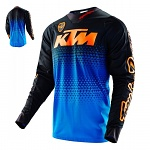 Pánský dres TroyLeeDesigns SE Jersey LE KTM Starburst Blue Orange 2016
