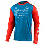 Pánský dres TroyLeeDesigns SE Ultra Jersey Adidas Team Limited Edition Ocean Flo Orange 2020