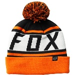Pánský kulich FOX Throwback Beanie Black Orange