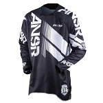 Pánský MX dres ANSWER Elite Jersey Black White 2017