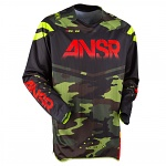 Pánský MX dres ANSWER Elite Jersey LE Camo 2017