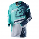 Pánský MX dres ANSWER Elite Jersey Teal Navy 2018