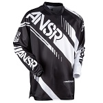 Pánský MX dres ANSWER Syncron Jersey Black White 2017