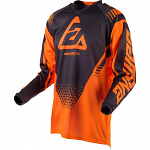 Pánský MX dres ANSWER Syncron Jersey Drift Flo Orange Charcoal 2019