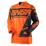 Pánský MX dres ANSWER Syncron Jersey Orange Grey 2018