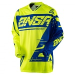 Pánský MX dres ANSWER Syncron Jersey Yellow Blue 2018