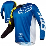 Pánský MX dres FOX 180 Race Jersey Blue 2018