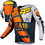 Pánský MX dres FOX 180 Sayak Jersey Orange 2018