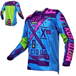 Pánský MX dres FOX 180 Vicious Jersey Special Edition Blue 2016