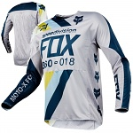 Pánský MX dres FOX 360 Draftr Jersey Light Grey 2018
