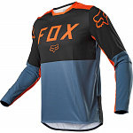 Pánský MX dres FOX Legion LT Jersey Blue Steel 2021