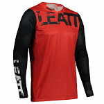Pánský MX dres Leatt Moto 4.5 X-Flow Jersey Red 2021
