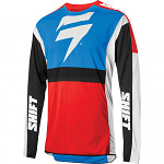 Pánský MX dres SHIFT 3Lack Label Race 2 Jersey Blue Red 2020