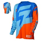 Pánský MX dres SHIFT Faction Jersey Orange Blue 2016