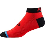 "Ponožky FOX Race Sock 2"" Red Black 2016"