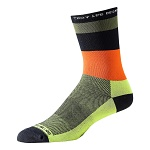 Ponožky na kolo TroyLeeDesigns ACE Performance Crew Sock Horizon Green