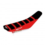 Potah sedla BudRacing Seat Cover FullTraction Honda CRF450R 17-.. CRF250R 18-.. Black Red